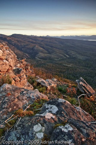 Grampians east side sunset