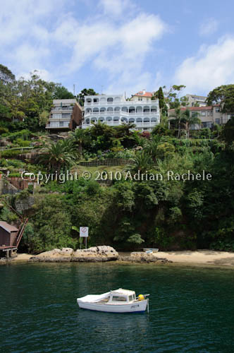 House in Sydney Harbour